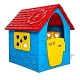 Thorberg - Casina giocattolo per bambini, colorata (made in EU)