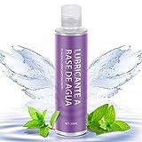 Lubricante íntimo a base de agua, lubricantes 100% naturales sin fragancia, de larga duración-200 ml