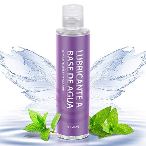 Lubricante íntimo a base de agua, lubricantes 100% naturales sin...