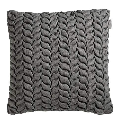 Riviera Maison - RM Chubby cushion grey 43x43