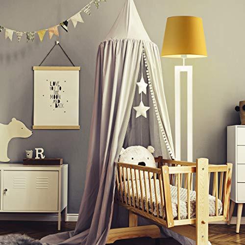 VEGAS - Lámpara de pie, color amarillo mostaza, marco blanco