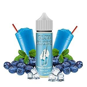 Dripping Range - Blue Slush - Eco Vape E-Liquid   50ML   Sin Nicotina: 0MG   50VG/50PG   E-Liquido para Cigarrillos Electronicos   Vaper   E Cigarette   E Shisha