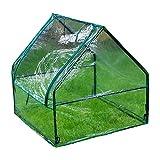 WXQIANG Mini invernadero impermeable cubierta portátil, resistente al viento, tienda de campaña para invernadero, perfecto para interior y exterior (tamaño: 92 x 90 x 90 cm)