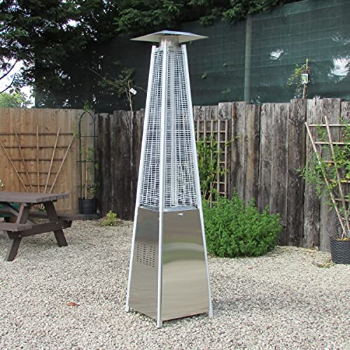 Outdoor Pyramid Gas Patio Heater - Flame 13kw