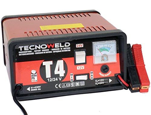 PROWELTEK-Chargeur de Batterie 12/24V - Auto Camion - Charge Batterie de 15 à 120 Ah.