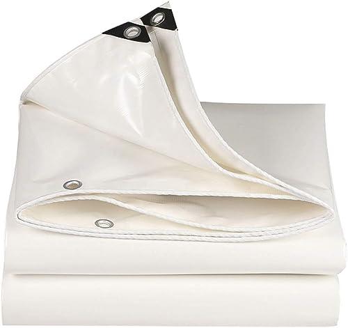 Duanguoyan Bache- Toile de Prougeection Solaire de bache de Prougeection Solaire extérieure télescopique Hangar bache Push-Pull imperméable auvent Tissu (Couleur   blanc, Taille   6X10m)