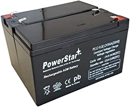 PowerStar- 2 Pack -9AH Replacement for APC Back-UPS XS1500 XS 1500 12V 7Ah Battery