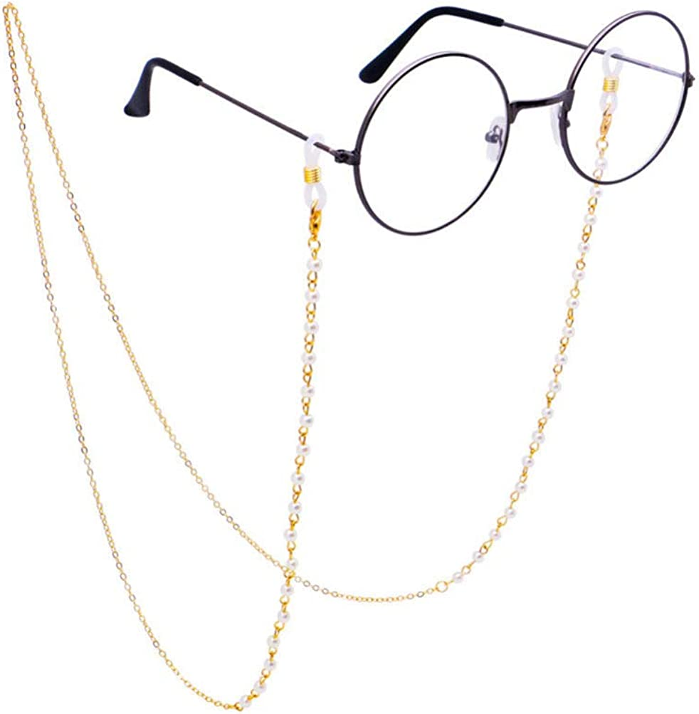 FENICAL Eyeglasses Strap Anti-skid Retainer Eyewear Holder Practical Strap Eyeglass Chain for The Old Men Women