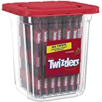 105-Count Twizzlers Hershey Co. Strawberry Candy Twists