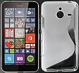 tomaxx Microsoft Lumia 640 XL Hülle s-tpu Tasche Schutzhülle transparent