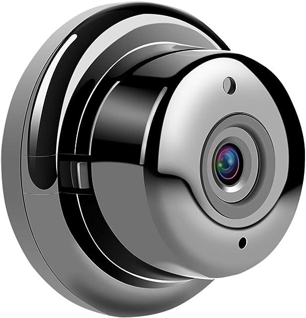 QLPP Cámara de Seguridad IP inalámbrica HD 960P Inicio WiFi vigilancia Internet Videocon detección de Movimiento visión Nocturna para bebé Elder Mascotas Soporte iOS Android