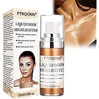 Iluminador líquido, Líquido Resaltador, highlighter liquido, highlighter maquillaje, Concealer Contouring Iluminador corrector Bronceador Cosmético