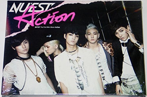 Pledis Entertainment Nu'Est Nuest - Action (1St Mini Album) Cd+Photobook+Photocard
