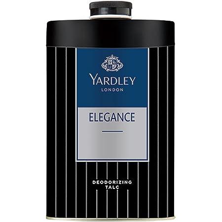 Yardley London Elegance Deodorizing Talc for Men, 250g