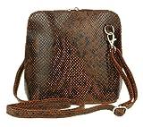 Girly Handbags Genuine Leather Snake Skin...