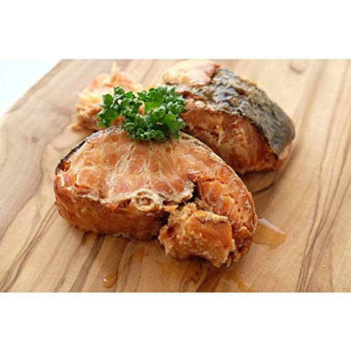 チーナジャパン『高級珍味 天然紅鮭スモーク缶詰』