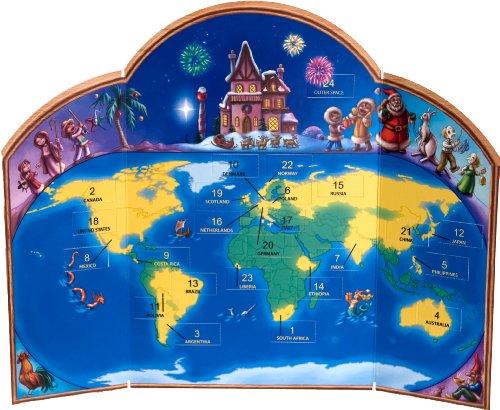 Haute Decor Advent Calendar - Christmas Around The World
