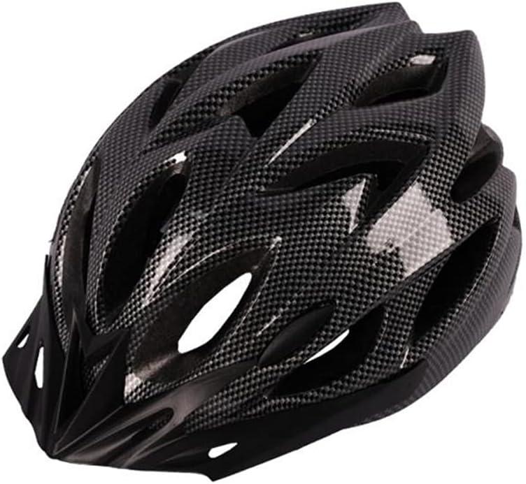 Zamelux Casco para Bicicleta Patinete con luz de Seguridad con Visera Ajustable Hombre Mujer Adulto…