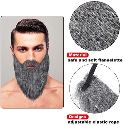 Cosplay fake beard _image3