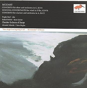 Mozart: Oboe Concerto in C; Sinfonia Concertante in E flat; Clarinet Concerto in A