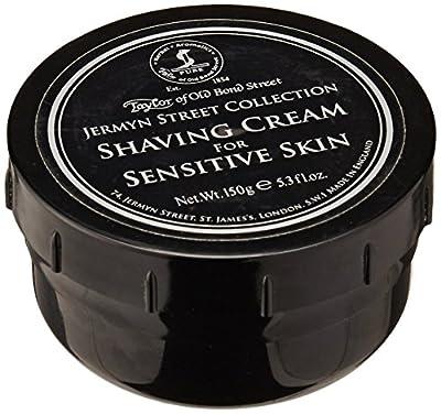 Taylors of Old Bond Street Jermyn Street Collection Shaving Cream for Sensitive Skin Screw Tread Pot 150gr