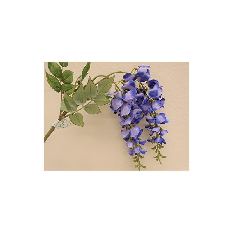 "silk flower arrangements phoenix silk 2 sprays japanese wisteria 24"" artificial silk flowers 1353"