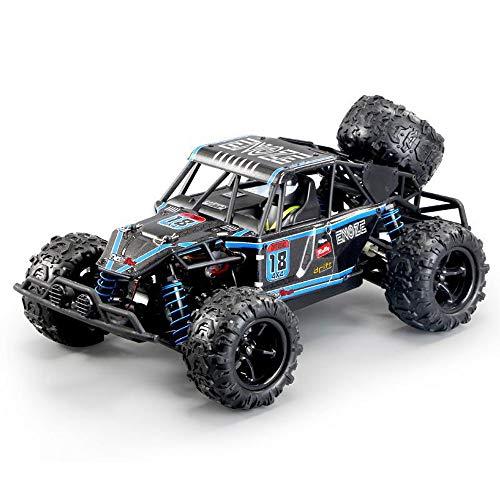 Weaston 1/18 Modelo Grande Control Remoto Coche 4WD Off-Road RC Vehículo Bigfoot Monster Climbing RC Truck 2.4G Carga de Metal con Light RC Coche Juguetes para niños Regalos