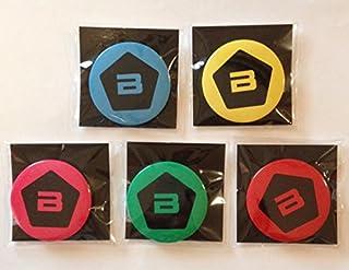 BIGBANG×NUDY AURAヌーディオーラコラボ 缶バッジ全5色セット