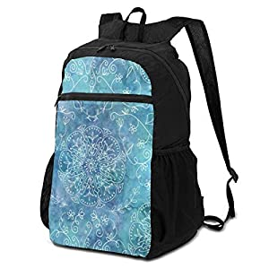 51bcsB38i4L. SS300  - Bohemian Butterflies Natalia Outdoor Travel Backpack for Men and Women,Foldable/Lightweight/Waterproof/Large-Capacity