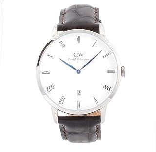 ダニエル ウェリントン DANIEL WELLINGTON 腕時計 1122DW シルバー 38mm DAPPER YORK ダッパー ヨーク [並行輸入品]