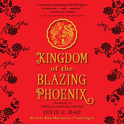 Kingdom of the Blazing Phoenix audiobook cover art
