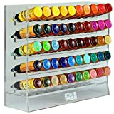 Holder Ink Acrylic Vertical Display Stand Organizer For 1oz Tattoo Ink Bottles. Keeps Your Items Organized, Secured and Ready to use.