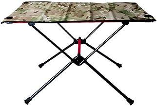 DX Folding Camping Table, Draagbare aluminium opklapbare picknicktafel, outdoor mini met opbergtas, laadvermogen tot 30kg,...