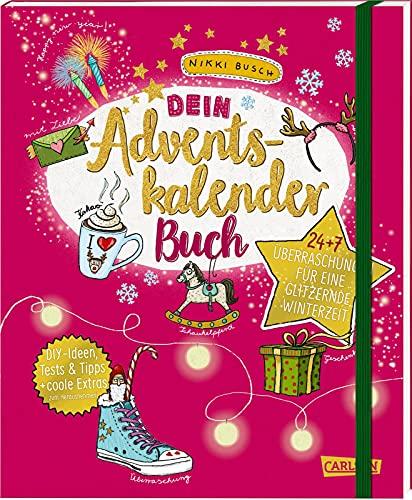 Dein Adventskalender-Buch: 24 + 7 Überraschungen für eine glitzernde Winterzeit