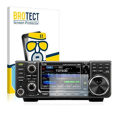 BROTECT Protector Pantalla Cristal Mate Compatible con Icom IC-7300 Protector Pantalla Anti-Reflejos Vidrio, AirGlass (3 Unidades)