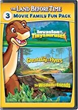 The Land Before Time XI-XIII 3-Movie Family Fun Pack (Invasion of the Tinysauruses / The Great Day of the Flyers / The Wisdom of Friends)