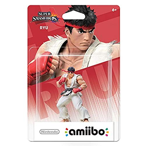 CQ Super Smash Bros. Amiibo: Ryu Figurine!Super Smash Bros.-Serie Actionfigur Spiel Meisterwerk sammelbare Abbildung aus Japan Import (Wii U / 3DS / Switch) Toys