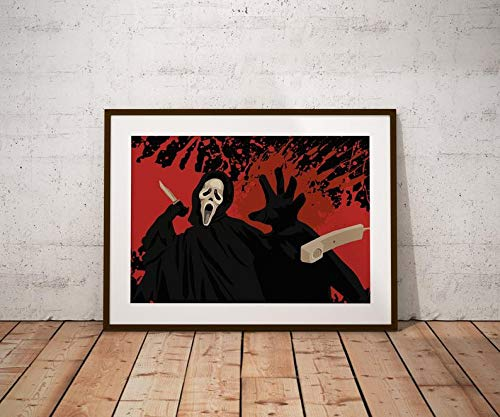 Póster Scream INSPIRED Scream Poster, Scream Print, Scream Art, Scream Art A0 - 841x1189mm
