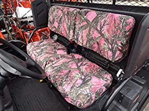 Durafit Seat Covers Kubota RTV X900, RTV X1100, RTV X1120D and 1140 Fronts New Models MC2 Pink Camo Endura Seat Covers