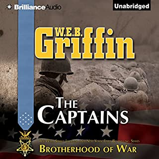 The Captains audiobook cover art