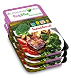 Ready Fresh Packaged Vegetables & Meals, Sauteed Broccoli - 3 Pack. All Natural, Vegan, Plant Based, Non GMO, Keto Friendly, and Gluten Free