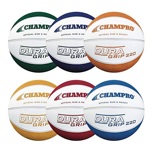 Review Of CHAMPRO Dura Grip 220 Basketball (Official) - 6 Pack