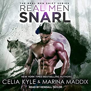 Real Men Snarl     Real Men Shift Series, Book 2              Written by:                                                                                                                                 Celia Kyle,                                                                                        Marina Maddix                               Narrated by:                                                                                                                                 Kendall Taylor                      Length: 6 hrs and 7 mins     1 rating     Overall 3.0