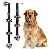 Doggie Potty Traning House Loud Bells DCSUIT Dog Doorbell Strap Suit for Puppy//Cats Housebreaking Adjustable Nylon Strap with 8 pcs Ring Bells Outdoor