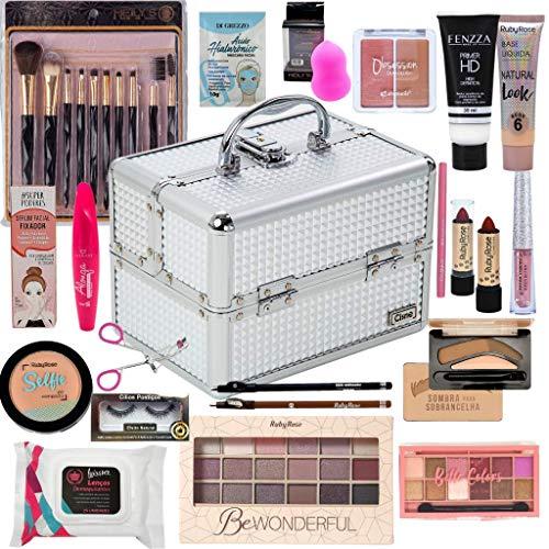 Maleta De Maquiagem Completa Ruby Rose Kit