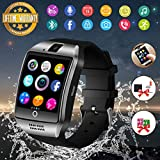 smart watch donna uomo orologio smartwatch ios android con fotocamera orologio intelligente resistente phone watch sport tracker di fitness for huawei samsung lg bambini ragazzi