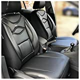 Maß Sitzbezüge kompatibel mit Mercedes C-Klasse W205/S205 Fahrer & Beifahrer Farbnummer: D104