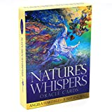 ZDANG Nature's Whispers Oracle Baraja de 50 Cartas Bellamente ilustrada Adivinación para...