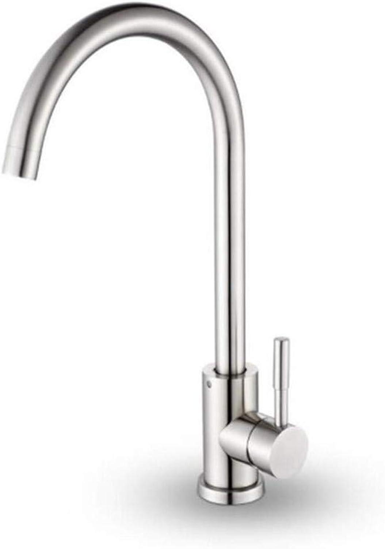 Kitchen Bath Basin Sink Bathroom Taps Kitchen Sink Taps Bathroom Taps Kitchen Head Cold and Hot Dual Use Single Handle Ctzl0861