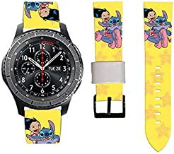 Replacement Band Compatible with Samsung Gear S2 Gear S3 Frontier S3 Classic Sport Galaxy Watch 42mm 46mm Gear S4 Galaxy Watch Active Easy Changing (Samsung Gear S2)